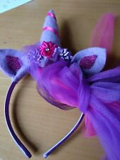 Unicorn Headband // Colourful, Perfect For Children, Fun, Horn, Hairband Cosplay