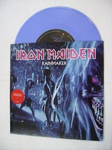 """IRON MAIDEN - RAINMAKER - 7"""" BLUE VINYL BRAND NEW 2003"""