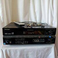 Pioneer 7.1 AV Receiver Amplifier Stereo Dolby Surround VSX-815K w Remote Bundle