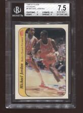 Michael Jordan RC 1986-87 Fleer Sticker #8 HOF Chicago Bulls Rookie BGS 7.5
