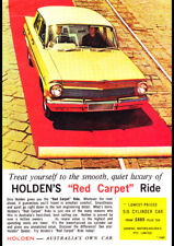 "1963 EJ HOLDEN SPECIAL SEDAN AD A3 CANVAS PRINT POSTER FRAMED 16.5""x11.7"""