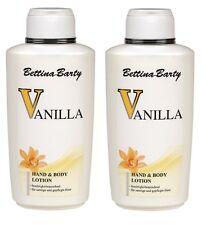 Bettina Barty Vanilla Hand and Body Lotion 2x 500 ml