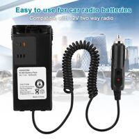 Car Charger Battery Eliminator Adapter 12V for Motorola ICOM Yaesu Walkie Talkie