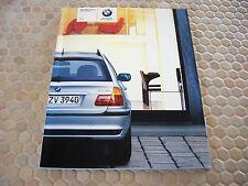 BMW OFFICIAL 3 SERIES SPORTS WAGON PRESTIGE SALES BROCHURE 2004 USA