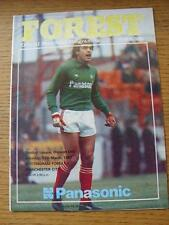 13/03/1982 Nottingham Forest v Manchester City  (No obvious faults)