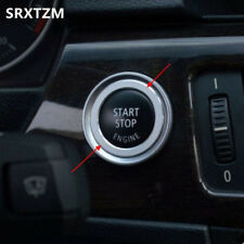 Interior Key Start Button Ring Decoration Trim For BMW 3 series E90 E92 2005-12