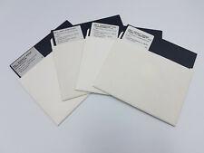 "1986 5.25""  bulk Floppy Disks Disc AMSTRAD MS DOS LOT PC PAINT OPERATING GEM"