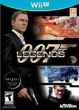 007 Legends [Nintendo Wii U, NTSC, BONUS Skyfall Levels, Action FPS] NEW