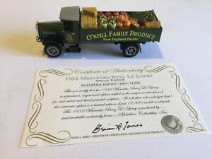 MATCHBOX YY032A/SA - 1932 MERCEDES-BENZ L5 LORRY - SPECIAL EDITION - NEW