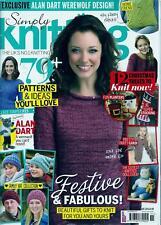 Simply Knitting Magazine Back Issue 139, November 2015 - Alan Dart Werewolf