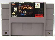 Primal Rage Super Nintendo SNES Video Game Cartridge Cleaned & Tested Fighting