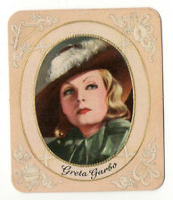 Greta Garbo 1934 Garbaty Film Star Series 1 Embossed Cigarette Card #11