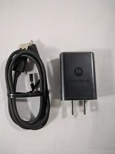 Motorola TurboPower 15+ QC3.0 Charger for Moto X4,Z2 Force Play Z3 Play, G6 Plus