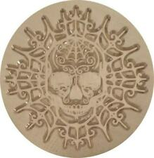 """Skull on Spider Web Wax Seal Stamp - 1.2"""" seal with wood handle Beautiful Design"""