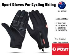 Bike Cycling Hiking Gloves Touch Screen Full Finger Fitness Gym Outdoor Skiing