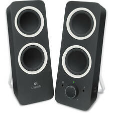 Logitech Z200 with Bass Control 🎵 Multimedia 2-Channel Wired Stereo Speaker 🎵
