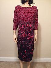 Escada Dress 3/4 Dolman Sleeve  Size 40 NWT Retail $925