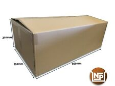 """5 x Extra Large Cardboard Boxes Strong Double Wall Huge 37"""" x 22"""" x 12"""" XXL"""