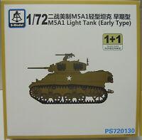 Leichter Panzer M5A1 ( Früh) , 1/72, S-Model ,Doppelpack 2 Modelle , NEUHEIT