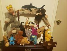 Lot Of Stuffed Animals(Disney, hushpuppies, sea world+ other animals/characters)