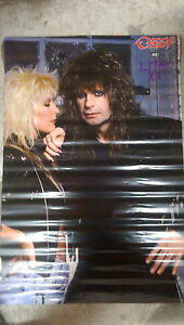 Ozzy Osbourne Lita Ford Close My Eyes POSTER 1989 24 x 36 WinterLand poster Co.