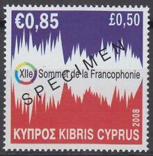 Specimen, Cyprus Sc1096 12th Francophone Summit