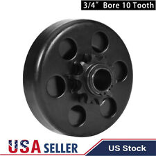 """Centrifugal Go Kart Clutch 3/4"""" Bore 10 Tooth 10T with 40,41,420 Chain 6.5Hp"""