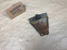 1946-47-48? Mercury mystery bracket Bumper-frame-engine?Flathead era