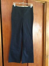 ANN TAYLOR LOFT NAVY ANN STYLE LINED CLASSIC PANTS 2 NWT Ret $59.50