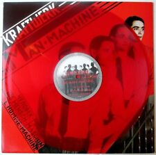 KRAFTWERK THE MAN MACHINE FRANCE ORIGINAL 1978 RED VINYL LP electro prog