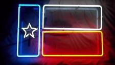 """New Texas State Flag Neon Light Sign Lamp Beer Pub Acrylic 14"""""""