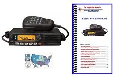 Yaesu FTM-3200DR VHF Mobile Transceiver with Nifty! Accessories Mini-Manual