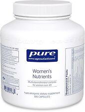 Pure Encapsulations Women's Nutrients 180 Vcaps - for Women Over 40