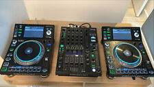 2 Denon SC5000 Players and X1800 Mixer