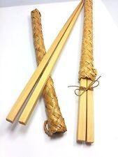 2 Sets Wood Chopsticks Matching Case Handmade Wooden And Case 10''