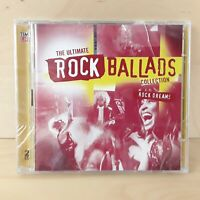 THE ULTIMATE ROCK BALLADS COLLECTION ROCK DREAMS VARIOUS 2 CD DISCS FREE P&P