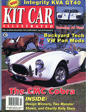 Kit Car Magazine October 1993 The CMC Cobra Integrity KVA GT40 EX 012816jhe