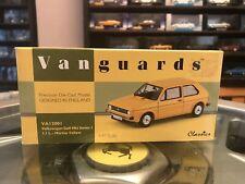 Vanguard MK1 VW Golf 1.1L Marino Yellow 1/43 MIB Ltd Ed VA12001