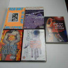 lot bundle red hot chili peppers dvds rhcp