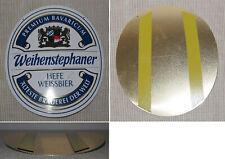 Zapfhahnschild aus Metall WEIHENSTEPHAN HEFE WEISSBIER flach Neu /& OVP