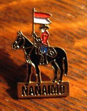 Nanaimo Canada Mountie Lapel Pin - British Columbia Canadian Mounted Police Pin