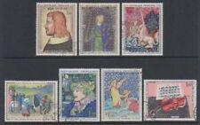 Timbres avec 9 timbres, sur art, artistes