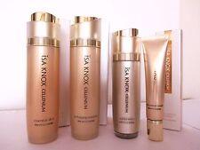 ISA KNOX CELLENIUM Set : Skin  Emulsion  Essence  Eye Cream  Korean LG Cosmetic