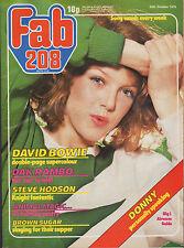 Fab 208 Magazine 20 October 1979     David Bowie     Brown Sugar     Dak Rambo