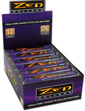 12 Stück - Zen 110mm konische Drehmaschine cone roller Wickler Drehhilfe rolling