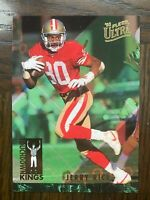 "1993 Fleer Ultra Jerry Rice ""Touchdown Kings"" 49ers"
