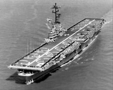 USS PRINCETON LPH-5 AT SEA 11x14 SILVER HALIDE PHOTO PRINT