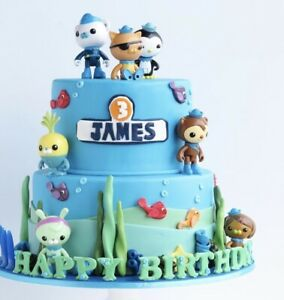 8 pc Octonauts Capt Barnacles Playset Cake Topper * SHIP FROM USA