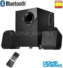 ALTAVOCES 2.1 HOME CINEMA RADIO Bluetooth TV PC MP3 FM USB SD CON MANDO