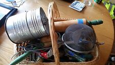Vintage Green Kitchen Gadgets!  Huge Auction of Items.. #0424-01